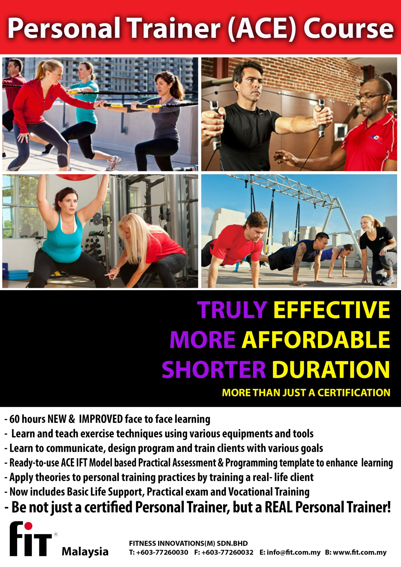 Ace Personal Training Certification Course Dec 2013 Penang Momma